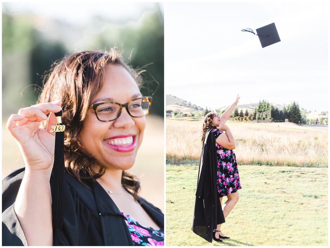 graduation social distance shoot