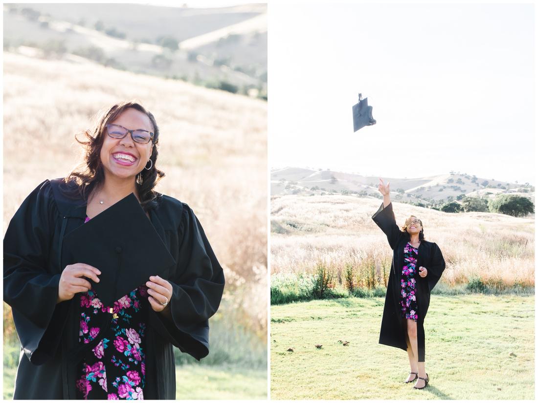 graduate social distance porch shoot