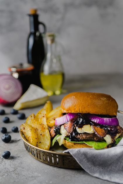 Central Valley Blueberry Burger