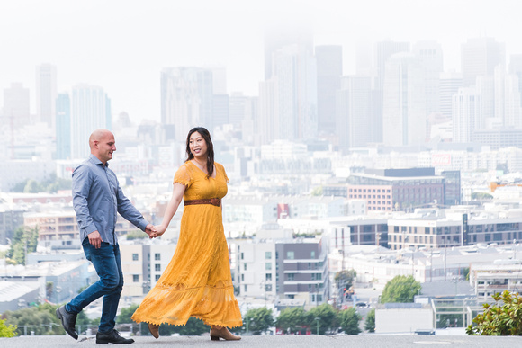 Potrero Hill San Francisco Engagement Shoot