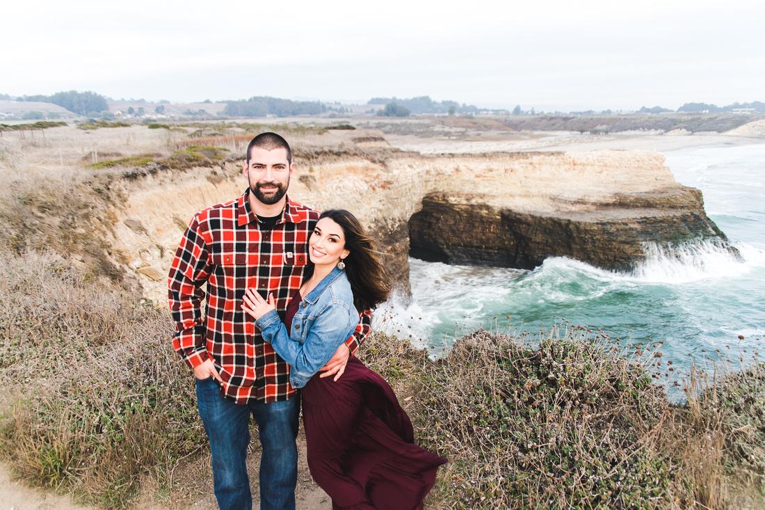 Coastal Cliffs Engagement Shoot
