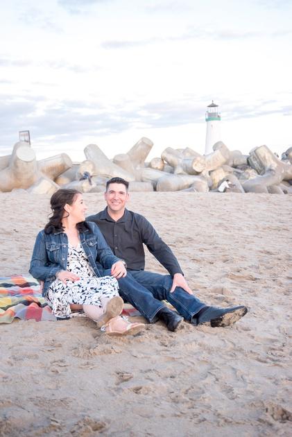 Walton Lighthouse Engagement Shoot by Bay Area wedding photographer, ShootAnyAngle Photography